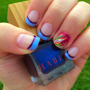 SUMMER GEL Nails! Nail Polish: Habit Cosmetics