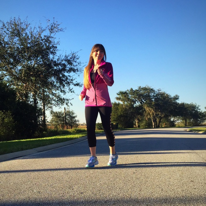 Let's have a run in the sun!